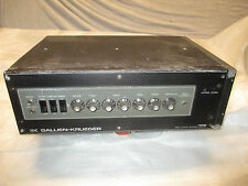 80's GALLIEN KRUEGER USA 400B BASS AMP as used by LED ZEP