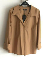 M&S Autograph Sizes 12 14 18 20 22 Supima Cotton Long Sleeve Blouse Bnwt £39.50