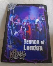 2011 Knotts Halloween Haunt Souvenir TRADING CARD #11 TERROR OF LONDON ScaryFarm