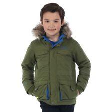 Cappotti e giacche verde casual per bambini dai 2 ai 16 anni