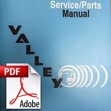 Digital PDF Download - Valley Pool Billiards Service & Parts Manual (39 Pages)