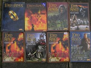 GAMES WORKSHOP LORD OF THE RINGS BOOKS MULTI-LISTING