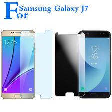 Neuf Trempé Verre Ecran Protection Film Housse Pour Samsung Galaxy J7 Pro/MAX