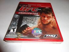 UFC Undisputed 2009 (Sony PlayStation 3, 2009) NEW PS3