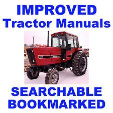 IH 3088, 3288, 3488 Hydro & 3688 Tractor Service Repair Shop IMPROVED Manual CD