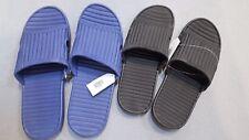 Mens WOMEN Slip On Slide Sandals Flip Flops Shower Beach RUBBER Slippers House S