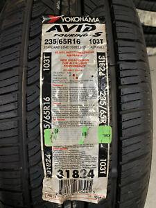 1 New 235 65 16 Yokohama Avid Touring-S NOS Tire