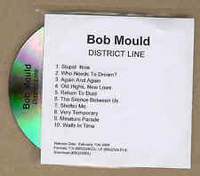Bob Mould District Line rare ADV CD-acetati 2008