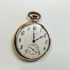 Waltham Open Face Antique Pocket Watches with 12-Hour Dial