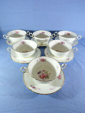 More details for quality royal cauldron shrewsbury pattern soup coupes designed sayer smith qty 6
