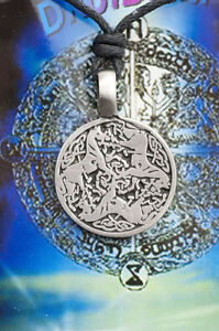 A Sospensione + Cordino Tribale Ethnic Celtico Druidismo Unicorno IN Protezione