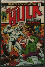 """Marvel The Incredible Hulk """"Spawn of the Flesh-Eater"""" #162 Apr 1973 090821Weec"""
