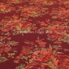 Tessuti e stoffe rosso tendaggio per hobby creativi al metro