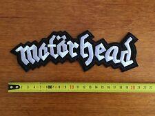 Patch Dossard Motorhead 21 X 7cm Lemmy Kilmister Heavy Metal Punk Hard Rock bike