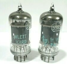 2 RCA  HP 12AU7 5963  Vacuum Tubes Tested On Calibrated  TV - 7