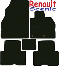 Renault Scenic Tailored car mats ** Deluxe Quality ** 2017 2016 2015 2014 2013 2