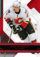 08-09 SP Game Used PLATINUM xx/25 Made! Dion PHANEUF #18 - Flames
