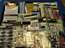 Lot 30 Card Scrapbook Supplies Embellishment Bling Sticker Recollections & Other