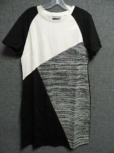 New Look Tall Colour Block Tunic Dress UK 14 RRP £19.99 LN110 AD 07