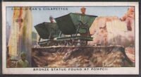 Bronze Statue Found At Pompeii 80 Y/O Trade Ad Card