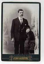 (Lb2278-427) Victorian Real Cabinet Photo, Gentleman, Gibson, DEWSBURY