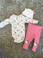 H&m bébé fille Hello kitty tenue ensemble 1-2 mois