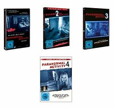 4 DVDs *  PARANORMAL ACTIVITY 1-4 IM SET - Micah Sloat  # NEU OVP §=