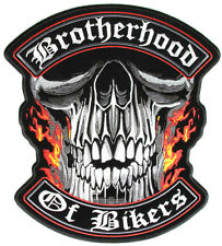 Brotherhood Patch Patch aufbügler v2 Biker Chopper motocicleta rocker Harley 1%