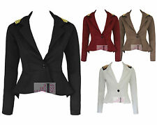 Petite Polyester Casual Blazers for Women