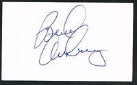 Bradley Arnsberg signed autograph auto 3x5 index card Baseball Player H1196