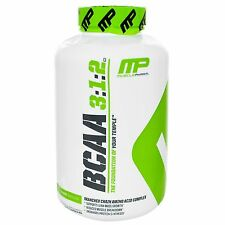 MusclePharm BCAA 3:1:2 Amino Acid Complex Lean Muscle Growth 240 capsules