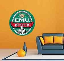 """Emu Bitter Beer Room Bar Restaurant Wall Decor Sticker Decal 22""""X22"""""""