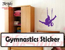 Gymnastic Rings - Silhouette Custom Vinyl Sticker