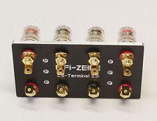 HiFi-ZEILE Service: Luxman M02 - Hochwertiges LS-Anschlussterminal