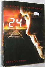 24 - Temporada 4 DVD, 2009 , 7-disc Juego Acción Aventura EEUU