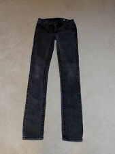 MISS ME FADED BLACK GRIFFITH PARK LOW RISE SUNNY SKINNY LEG STRETCH JEANS 27