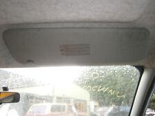 driver sun visor roof flap shade vauxhall vivaro renault trafic  01 14 van o/s
