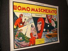 """L'UOMO MASCHERATO VOLUME 2° COLLANA GRANDI AVVENTURE - NERBINI - OTTIMO """"N"""""""