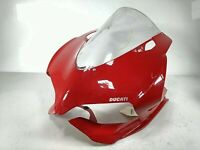 11 DUCATI 1199 PANIGALE Front Headlight Upper Fairing WindSheild Cover 48110743A
