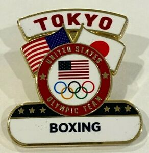USA Boxing Tokyo 2020 Pin Badge (Dated) - LAST ONE!