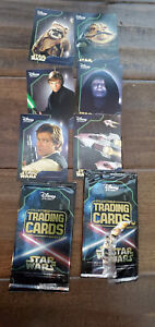2014 DISNEY STORE STAR WARS COMPLETE TRADING CARD SET OF ALL 6 FROM SERIES 3