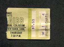 Original 1978 Andy Gibb concert ticket stub New Haven CT Shadow Dancing