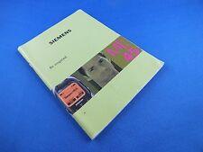 Original Siemens ME45 Buch Book Bedienungsanleitung Deutsch Anleitung