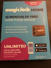 magicJack Home 2019 VOIP Phone Adapter Portable Home and On-The-Go Digital