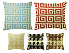 Square Geometric Pattern 17 x 17 inch Cushion Cover Pillowcase for Sofa Bed