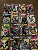 G.I. Joe V1 Huge 16 Issue lot  between #44 to #69 Copper Age-  Build Your Run