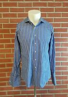 Brooks Brothers Slim Fit Makers Merchants Egyptian Spread Italy USA 16 1/2 - 35
