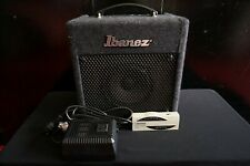 Ibanez IBZ-B Small Bass Guitar Amplifier Amp & Step-down Transformer & Tuner