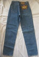 VTG LEVI'S 560 CANADA Loose Fit Straight Leg Hi Waist Mom Jeans JR 9 LONG NWT