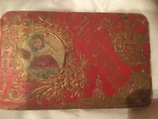 1890's Autograph Book Words of From Friends Hand Written Made in Germany